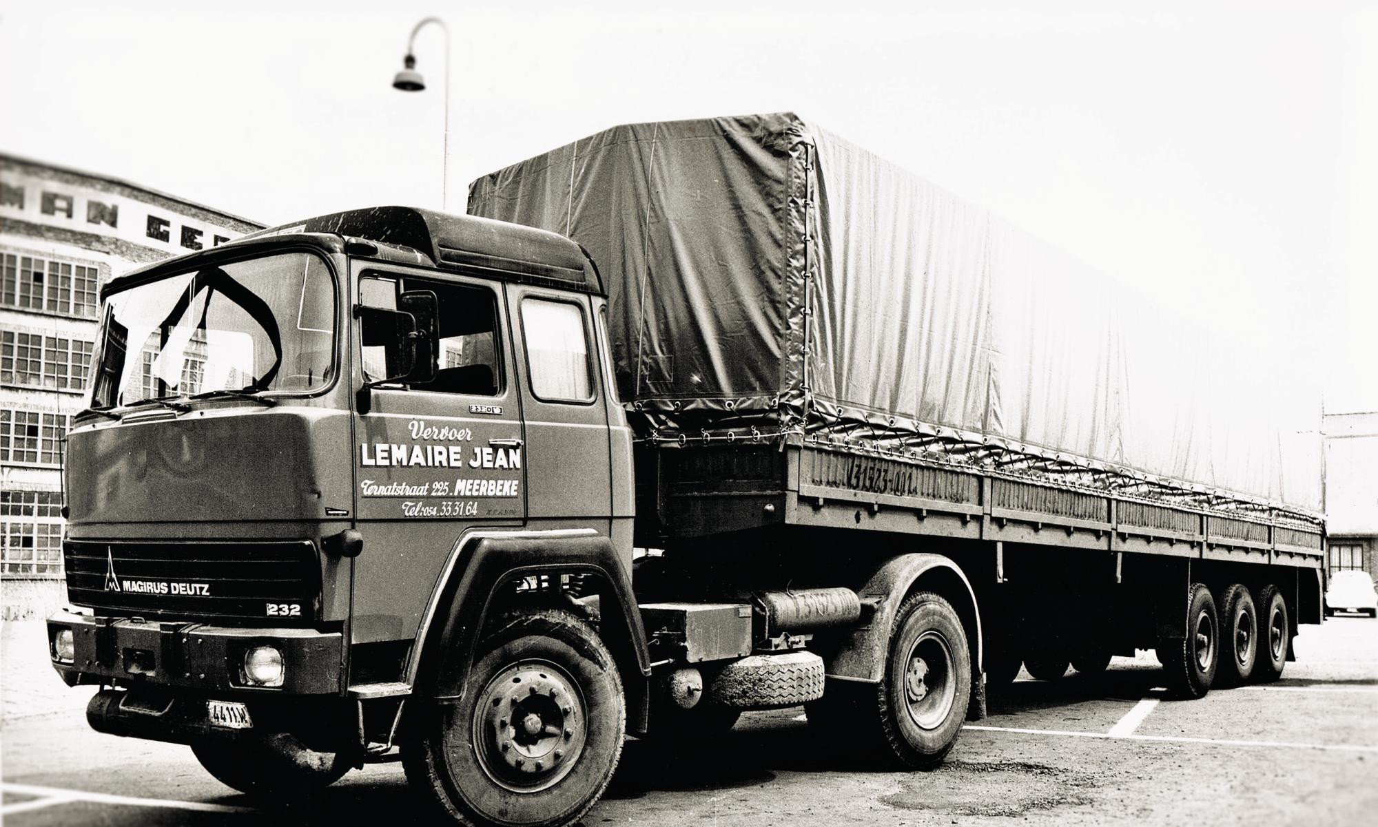 Transport Lemaire in de 70's